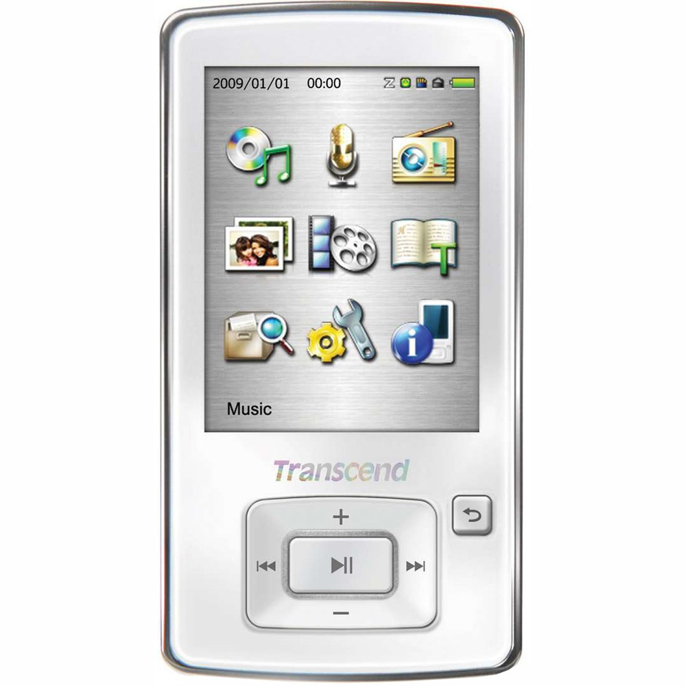 MP3-плеер Transcend T.Sonic 870 8Gb, белый - фото 1