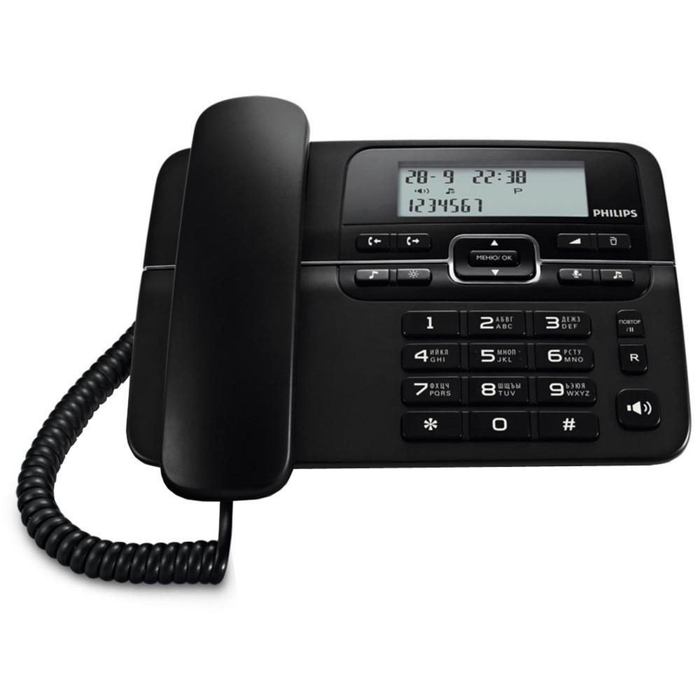 Проводной телефон Philips CRD200B/51 - фото 1