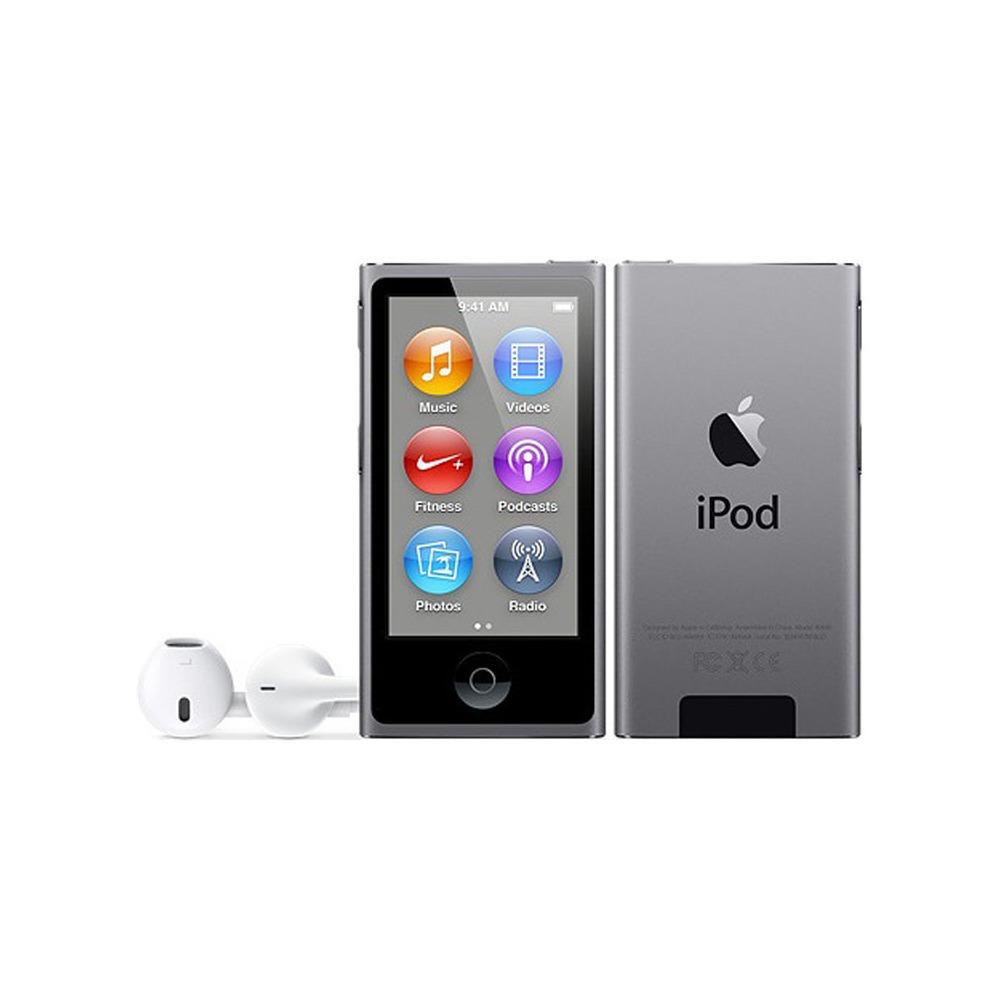 MP3-плеер Apple iPod nano 7 16Gb Space Gray - фото 1