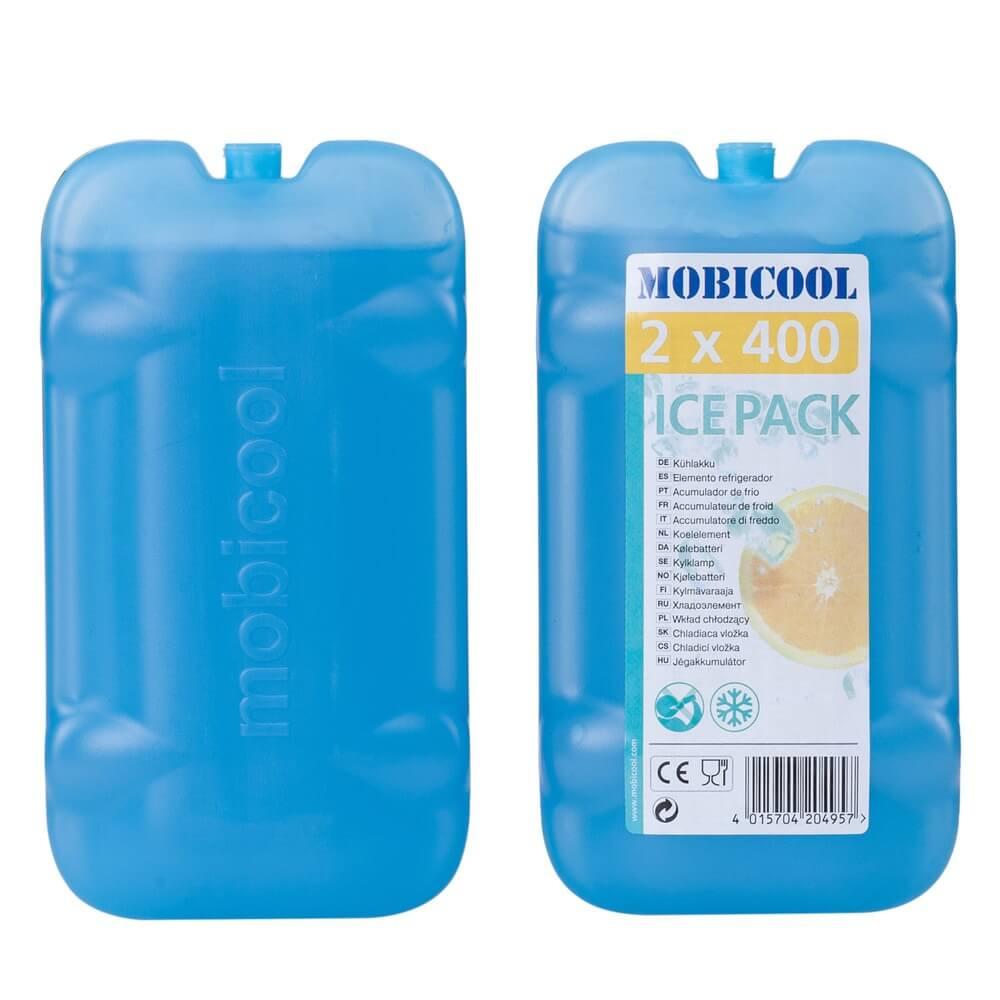 Аксессуар для автохолодильников Mobicool аккумулятор холода 2х400г - фото 1