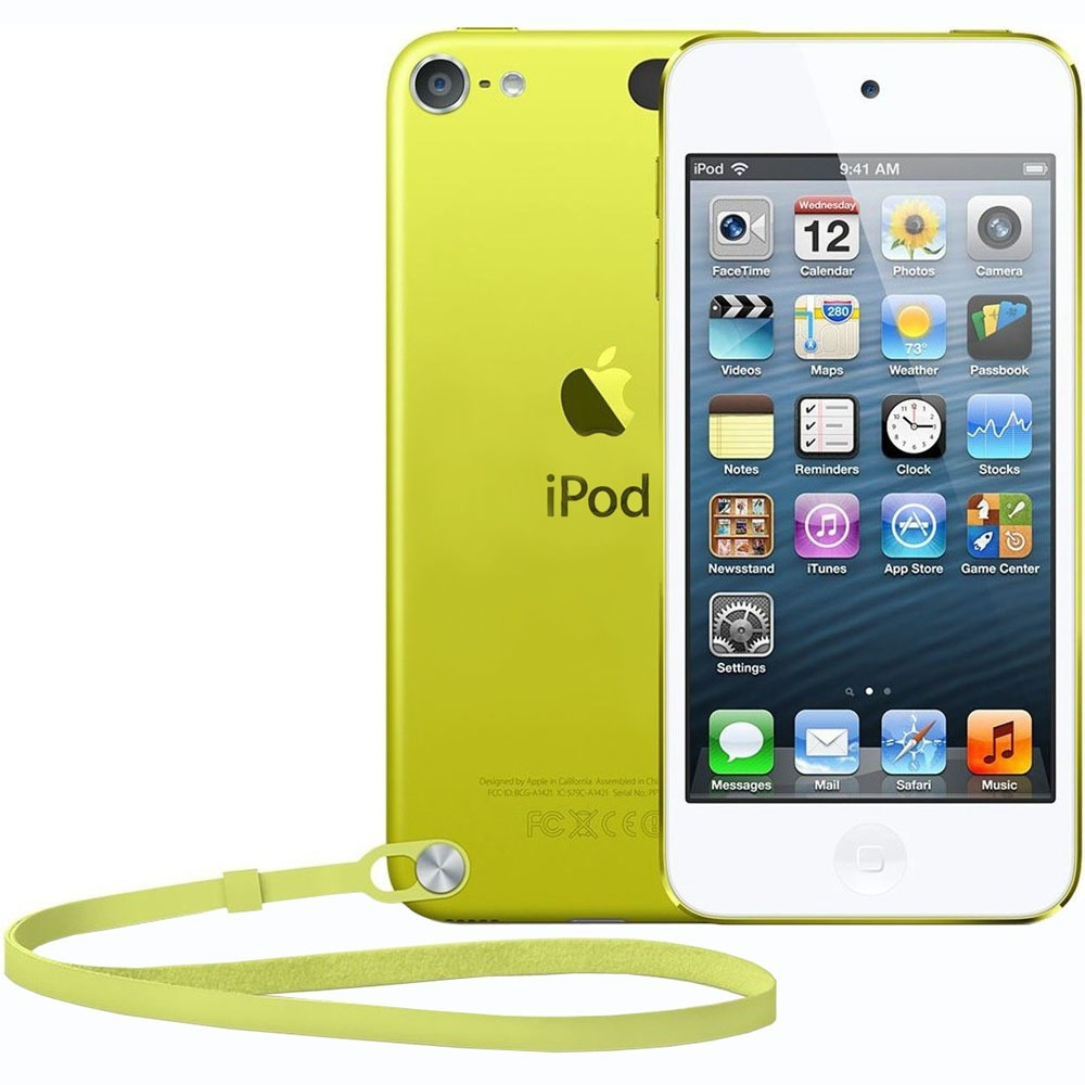MP3-плеер Apple iPod touch 16GB Yellow - фото 1