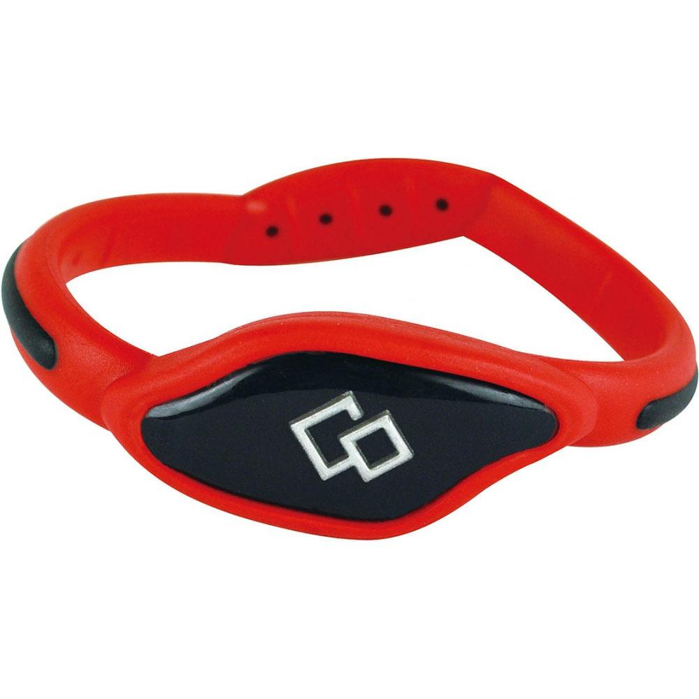 Магнитный браслет Colantotte ACFL02L красный/черный L - фото 1