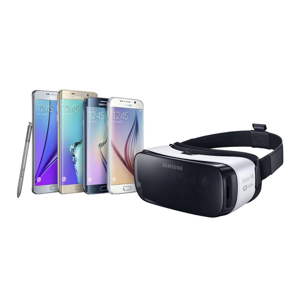 Очки виртуальной реальности Samsung Gear VR SM-R322 black-white - фото 2