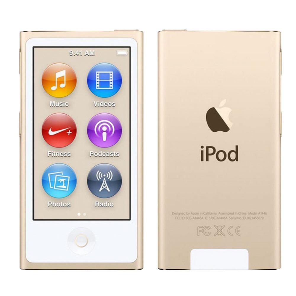 MP3-плеер Apple iPod nano 16Gb Gold - фото 1