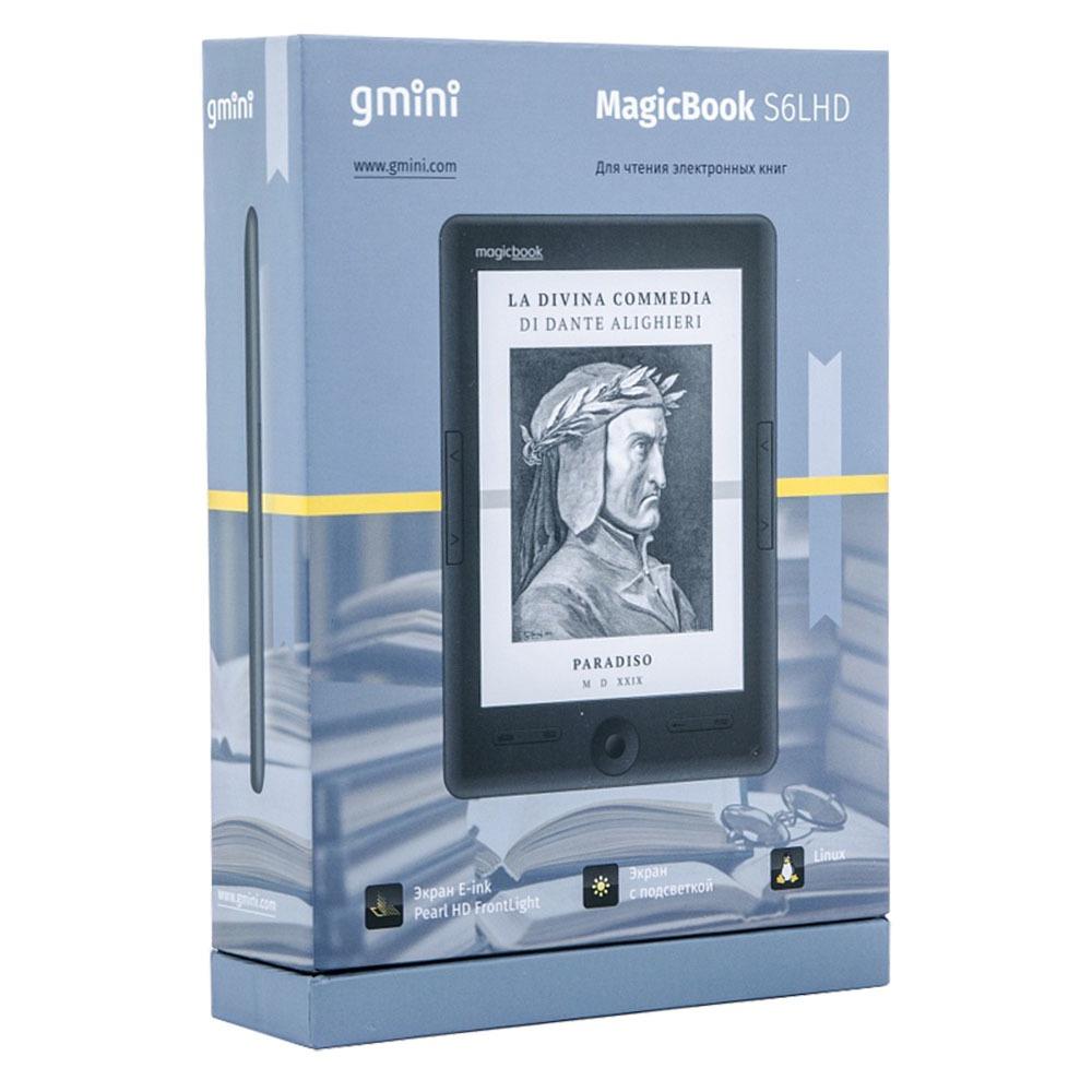 Электронная книга Gmini MagicBook S6LHD Graphite - фото 5
