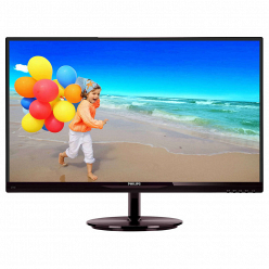 Монитор Philips 274E5QSB Black-Cherry