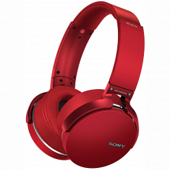 Наушники Sony XB950B1 red