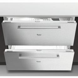 Нержавеющая сталь Встраиваемый холодильник Hotpoint-Ariston BDR 190 AAI