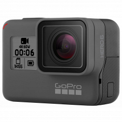 Экшн-камера GoPro HERO6 Black Edition (CHDHX-601)
