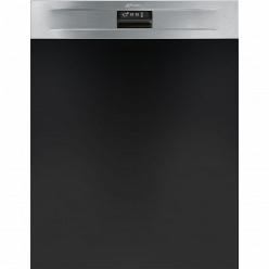 Серебристая Встраиваемая посудомоечная машина Smeg PL7233TX