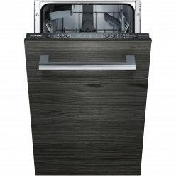 Черная Встраиваемая посудомоечная машина Siemens SR615X10IR