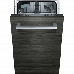 Черная Встраиваемая посудомоечная машина Siemens SR615X10DR