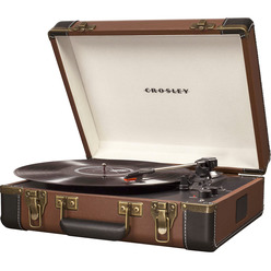 Проигрыватель виниловых пластинок Crosley EXECUTIVE DELUXE CR6019-BR