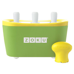 Zoku Triple Quick Pop Maker ZK101-GN мороженица