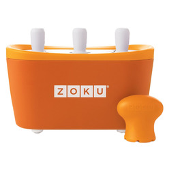 Zoku Triple Quick Pop Maker ZK101-OR мороженица