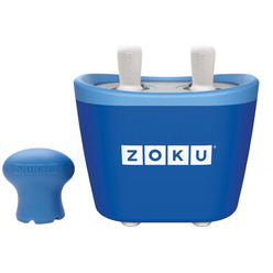 Zoku Duo Quick Pop Maker ZK107-BL мороженица
