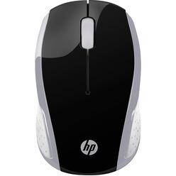 HP Wireless Mouse 200 серебристый (2HU84AA)