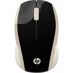 HP Wireless Mouse 200 Silk золотой (2HU83AA)