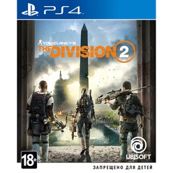 Sony Tom Clancys Division 2 PS4, русская версия