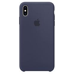 Apple iPhone XS Max Silicone Case темно-синий