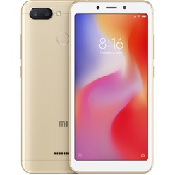 Xiaomi Redmi 6 64GB золотой