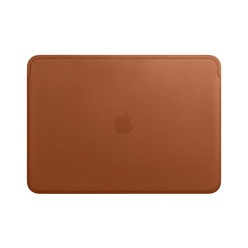 Apple Leather Sleeve Saddle Brown