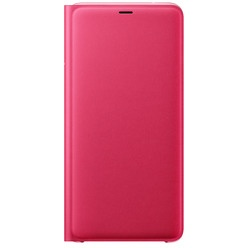 Samsung Flip Wallet Cover A9 2018, pink