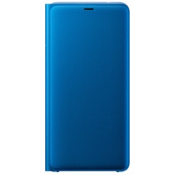 Samsung Flip Wallet Cover A9 2018, blue