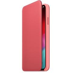Apple iPhone XS Max Leather Folio, розовый