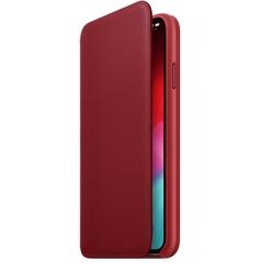 Apple iPhone XS Max Leather Folio, красный