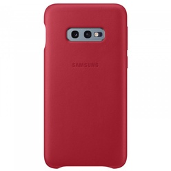 Samsung Leather Cover S10e, red