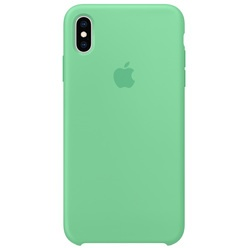 Apple iPhone XS Max Silicone Case мятный