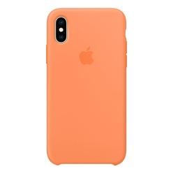 Apple iPhone XS Silicone Case свежая папайя