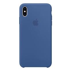 Apple iPhone XS Max Silicone Case, голландский синий