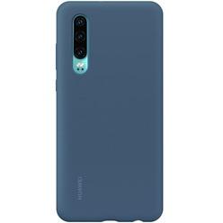 Huawei Silicone Car Case для P30, Blue