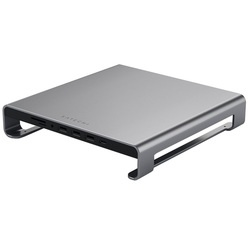 Satechi Type-C Aluminum iMac Stand with Built-in USB-C Data для iMac, серый космос