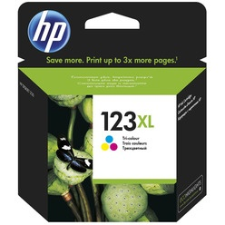 HP High Yield 123XL Tri-colour