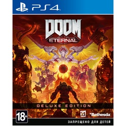 Sony DOOM Eternal. Deluxe Edition PS4, русская версия
