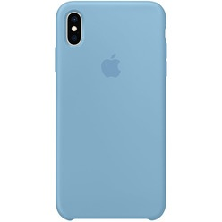 Apple iPhone XS Max Silicone Case синие сумерки