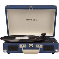 Crosley Cruiser Deluxe CR8005D-BL Bluetooth