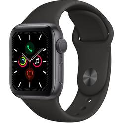 Apple Watch Series 5 40 мм серый космос, спортивный ремешок
