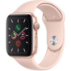 Apple Watch Series 5 44 мм розовый песок, спортивный ремешок