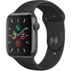 Apple Watch Series 5 44 мм серый космос, спортивный ремешок