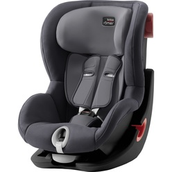 Britax Roemer King II Black Series Storm Grey Trendline