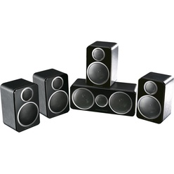 Wharfedale 5.0, DX-2 HCP System Black Leather