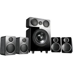 Wharfedale 5.1, DX-2 HCP System Black Leather