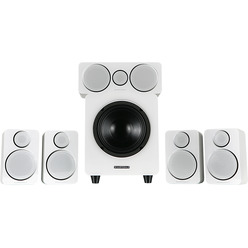 Wharfedale 5.1, DX-2 HCP System White Leather