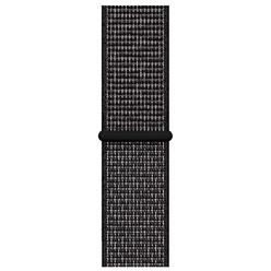 Apple Watch Nike Sport Loop 40 мм, черный (MX7Y2ZM/A)