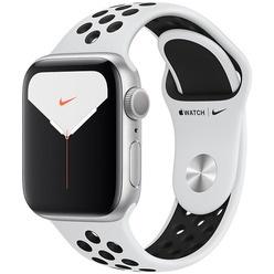Apple Watch Nike Series 5 40 мм серебристый, спортивный ремешок