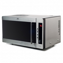 Серебристая Микроволновая печь AEG MCC 2580 /2581 E-M
